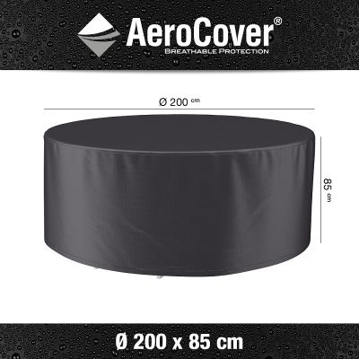 AeroCover AeroCover hoes diningset Ø 200xH85 cm