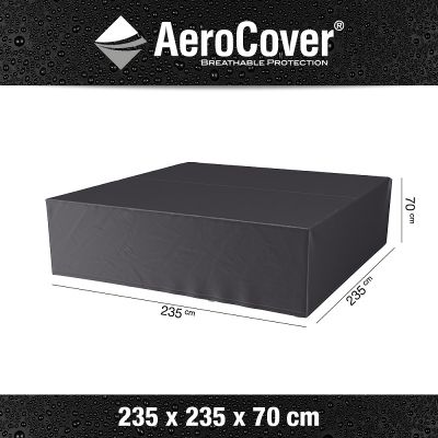AeroCover AeroCover hoes loungeset 235x235xH70 cm