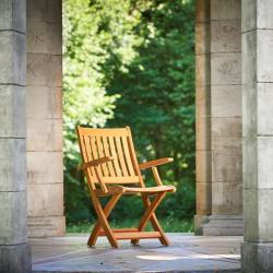 Traditional Teak Traditional Teak Alexia folding chair