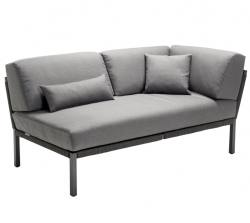 Solpuri Solpuri Club love seat links anthracite