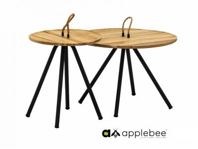 Applebee Applebee Elle Belt Koffietafel set van 2