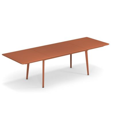 Emu Plus4 uitschuifbare tafel Maple Red