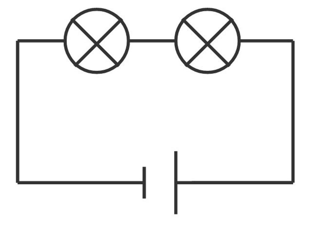 Reihenschaltung von Lampen