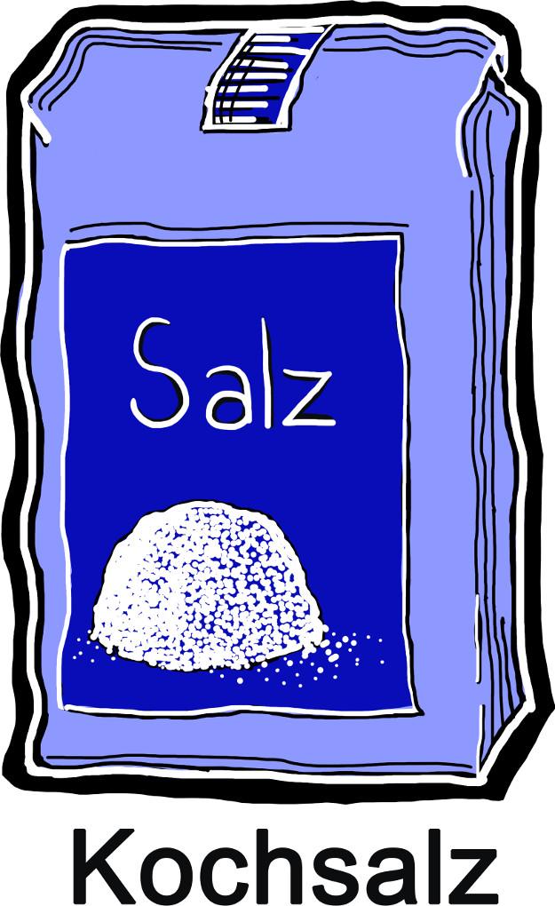 Salze: Kochsalz