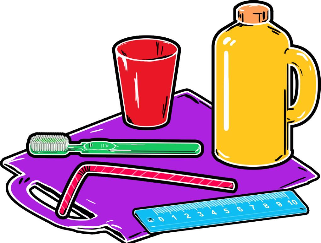 Erdöl: Gegenstände aus Kunststoff