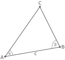 Kongruenzsatz WSW am Dreieck