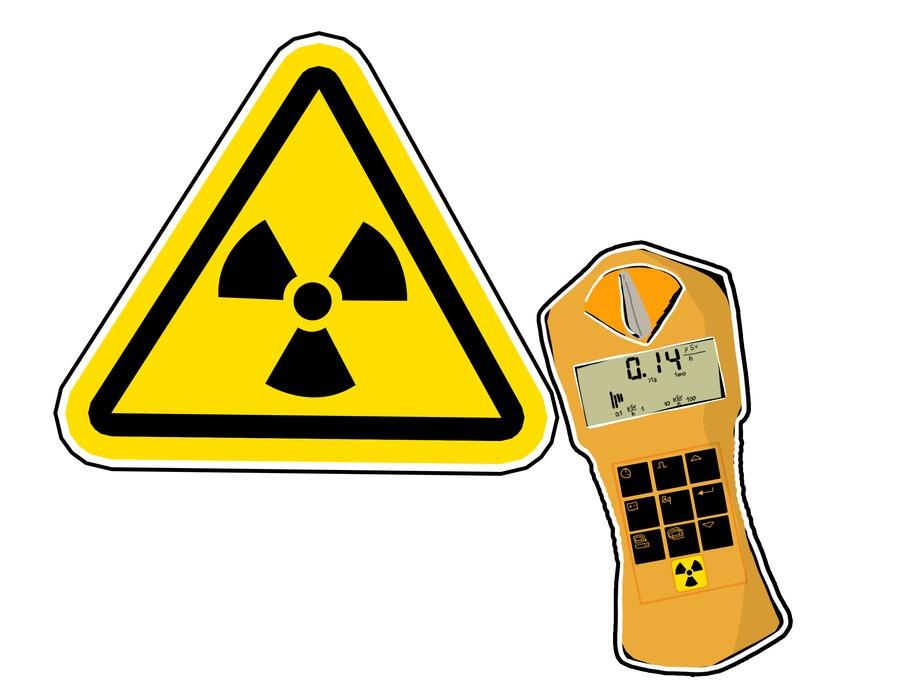 Radioaktivität: Strahlenwarnzeichen