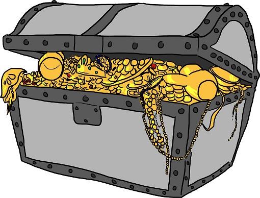 Metallchemie: Gold, Schatz