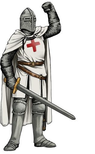 Metallchemie: Waffe & Rüstung eines Ritters
