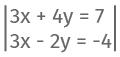 Beispiel Rechnung Additionsverfahren 1