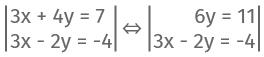 Beispiel Rechnung Additionsverfahren 2