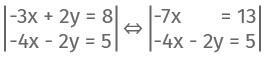 Beispiel Rechnung Additionsverfahren 6