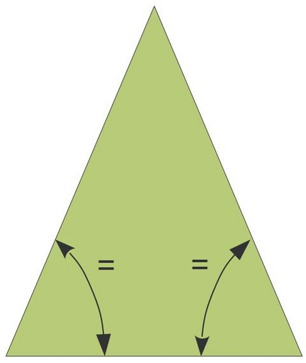 Trigonometry: Isosceles Triangle