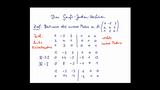 Inverse Matrix berechnen - Das Gauß-Jordan-Verfahren