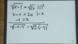 Wurzelgleichungen – Beispiel (1)