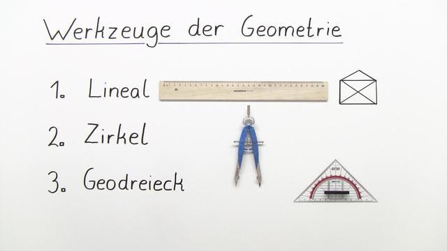 Werkzeuge der Geometrie