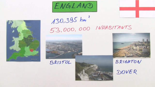 England: Regions, Cities and Sights