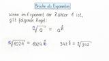 Brüche als Exponenten (1)