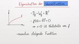 Wurzelfunktion als Umkehrfunktion der quadratischen Funktion