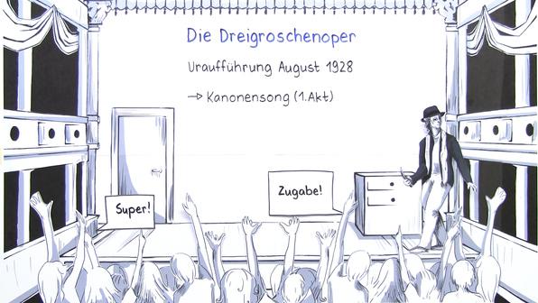 11993 bertolt brecht dreigroschenoper interpretation und rezeption