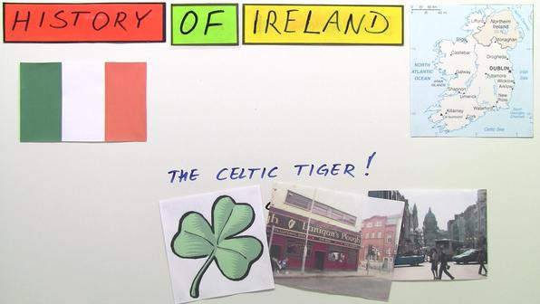 Ireland the celtic tiger   history