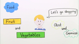 At the Market – Vokabeln zum Thema Obst und Gemüse
