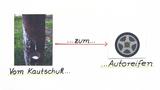 Vom Kautschuk zum Autoreifen