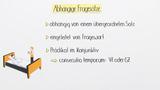Indirekte Fragesätze (Übungsvideo)
