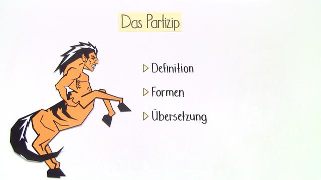 Partizipien PPA und PPP – Einführung