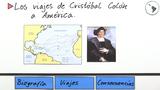 Los viajes de Cristóbal Colón a América