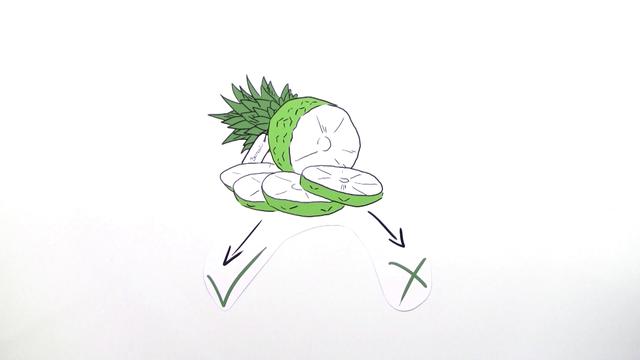 Bernoulli-Experimente – Übung mit Ananas