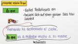 "Das Relativpronomen ""lo que"""