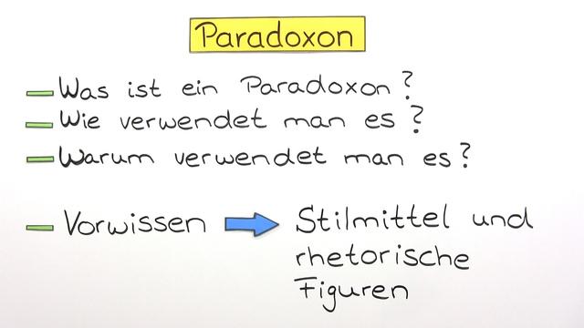 Paradoxon