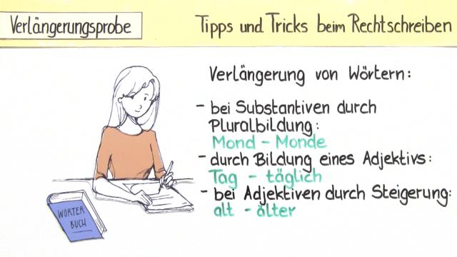 Tipps und Tricks beim Rechtschreiben