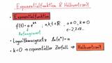 Exponentialfunktionen und Halbwertszeit – Übung