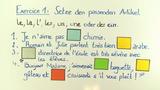 Substantive – Besonderheiten bei der Pluralbildung (Übungsvideo)