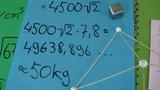 Geometrie – Prüfungsaufgabe Volumen und Masse (2)