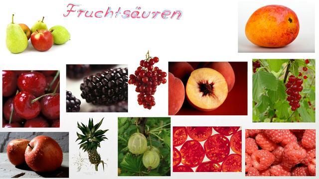Fruchtsäuren (Vertiefungswissen)