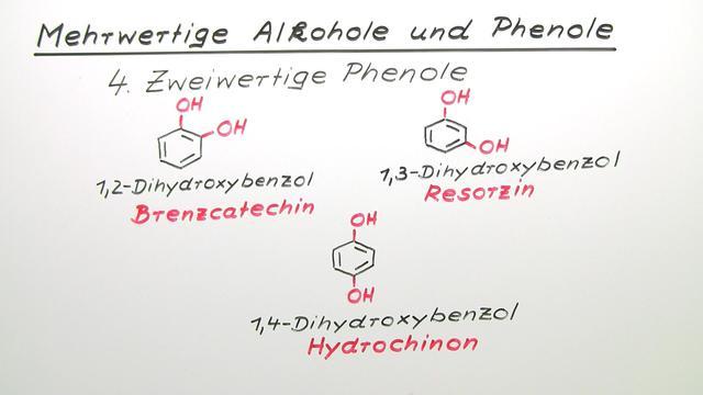 Mehrwertige Alkohole und Phenole