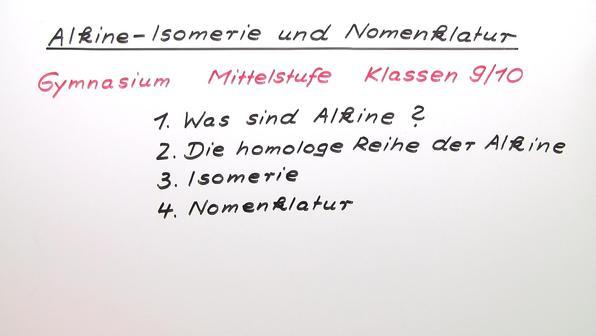 Vorschaubild 330 alkine isomerie und nomenklatur