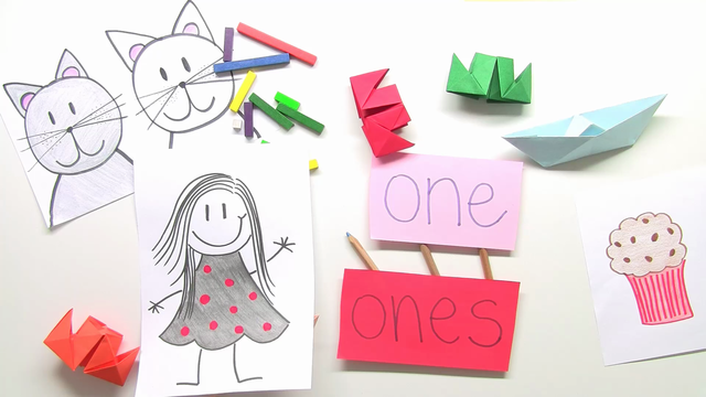 Indefinite Pronouns – one and ones (Übungsvideo)