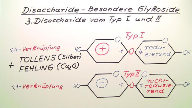 Disaccharide – Besondere Glykoside
