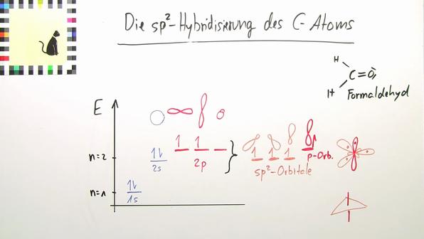 Hybridiserung des c atoms
