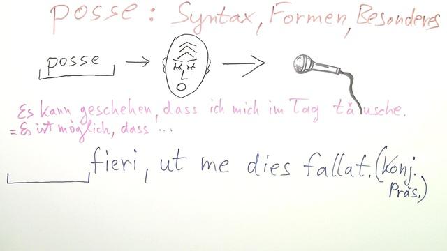 posse - Syntaxübungen