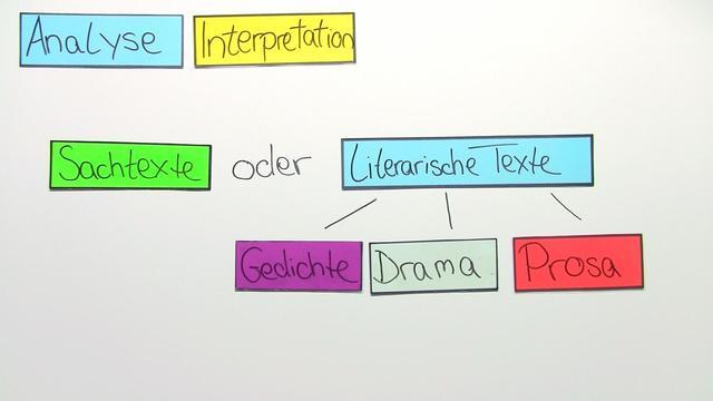Analyse und Interpretation