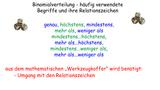 Binomialverteilung – höchstens und mindestens