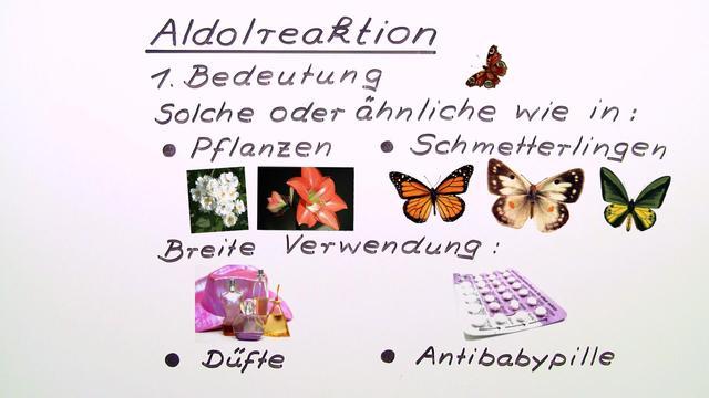 Mechanismus der Aldolreaktion