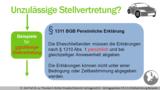 VR 4.5.6 Wie funktioniert das Prinzip der Stellvertretung im Vertragsrecht? Beispiel 1