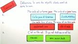 Adjektive – wechselnde Bedeutung bei Vor- und Nachstellung (Übungsvideo)