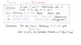 Theorie 1: Lineare Abbildungen - Definition und erste Eigenschaften